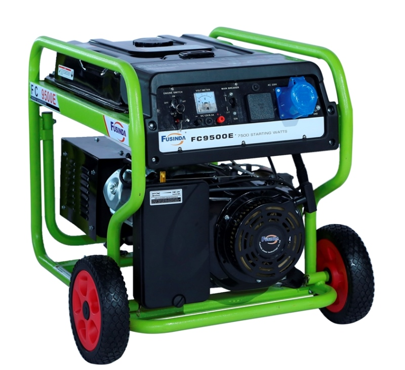 Fusinda 7kw Gasoline Generator with 100% Copper Alternator (FC9500E)