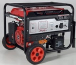 Fusinda 5kw Electric Gasoline Generator with Handle and Big Wheels